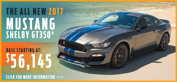 Click to research the new 2017 Ford Shelby GT350 model in Lakewood, WA