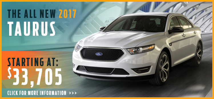 Click to View 2017 Ford Taurus Model Information
