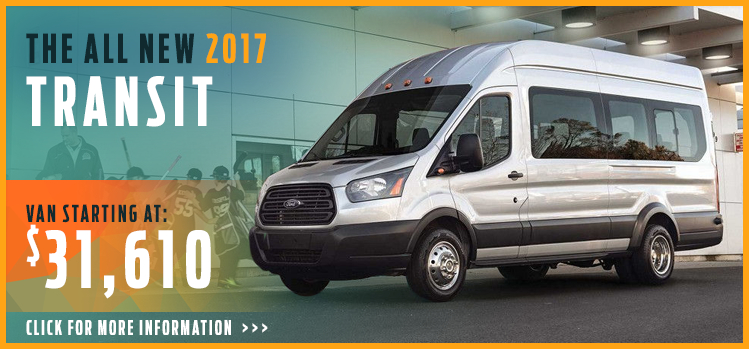 Click to research the new 2017 Ford Transit model in Lakewood, WA