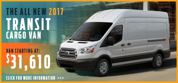 Click to View 2017 Ford Transit Cargo Van Model Information