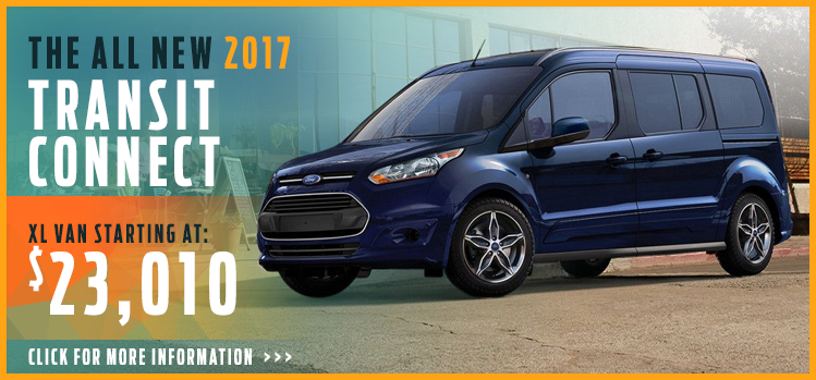 Click to View 2017 Ford Transit Connect Model Information