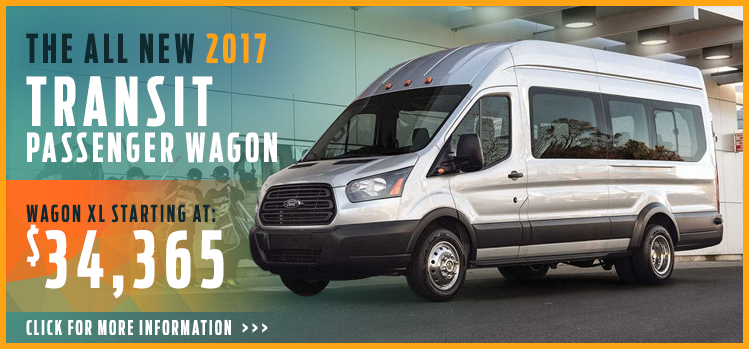 Click to View 2017 Ford Transit Passenger Wagon Model Information