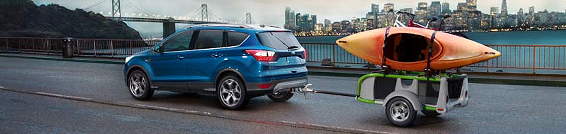 2017 Ford Escape Model in Motion