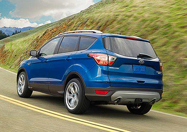 2017 Ford Escape Model Exterior Design