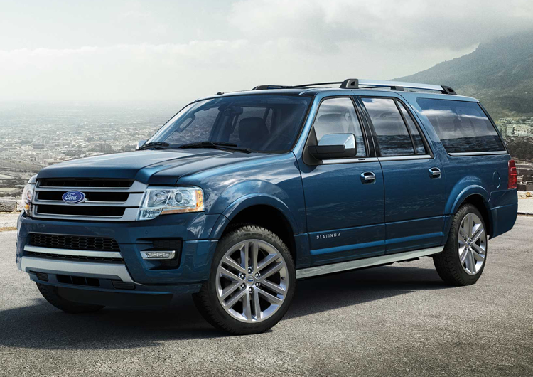 2017 Ford Expedition Design Features