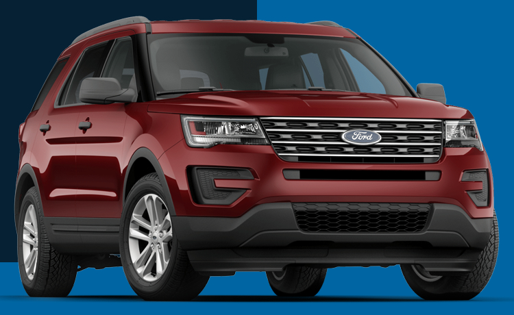 2017 Ford Explorer Model Exterior Styling