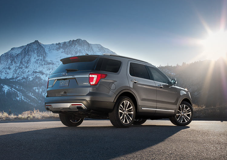 2017 Ford Explorer Model Design Features