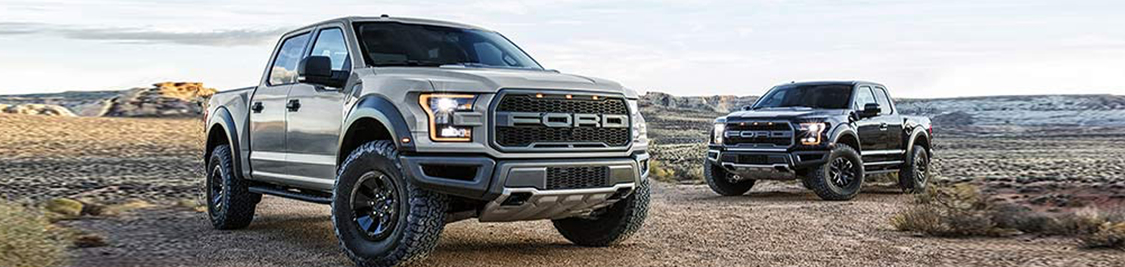 2017 Ford F-150 Raptor in Motion
