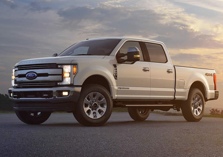 2017 Ford F-250 Design Features