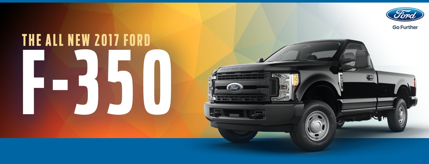 2017 Ford F-350 Super Duty Model Information