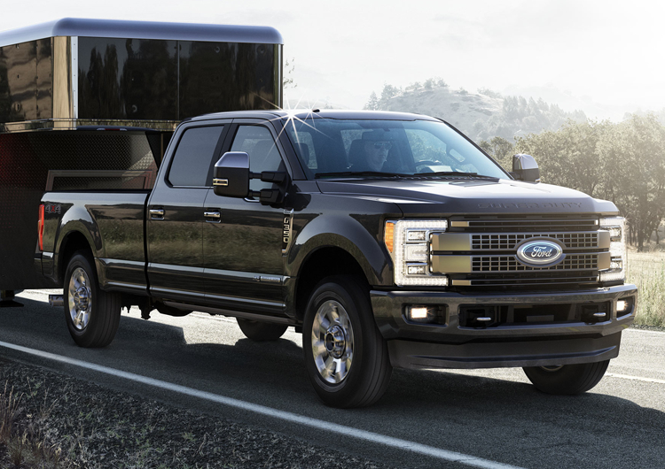 2017 Ford F-350 Design Features