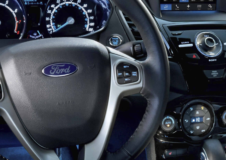 2017 Ford Fiesta Safety Features