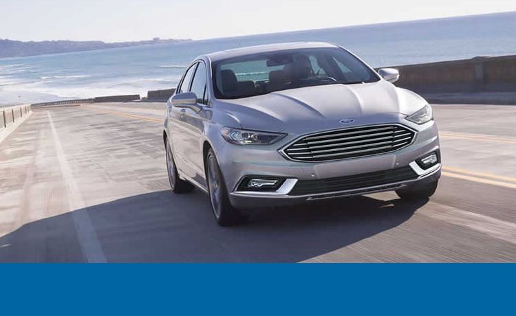 2017 Ford Fusion Hybrid model exterior styling