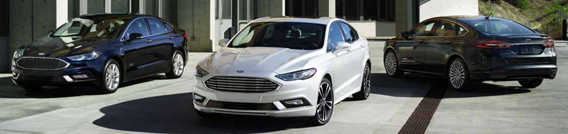2017 Ford Fusion Hybrid in Motion