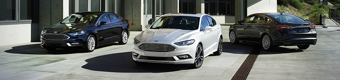 2017 Ford Fusion Model in Motion