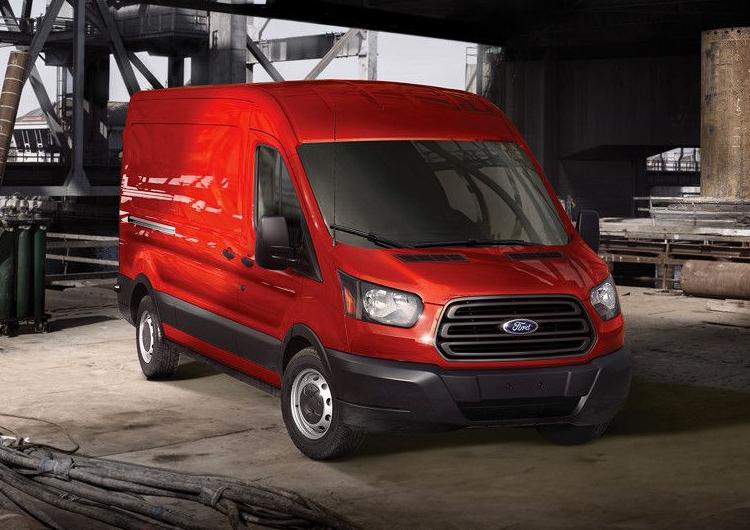 2017 Ford Transit Cargo Van Model Exterior