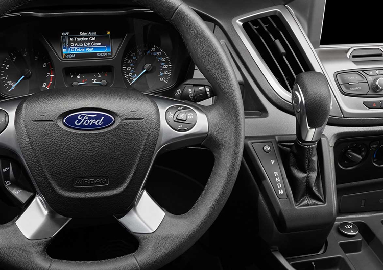 2017 Ford Transit Cargo Van Model Safety
