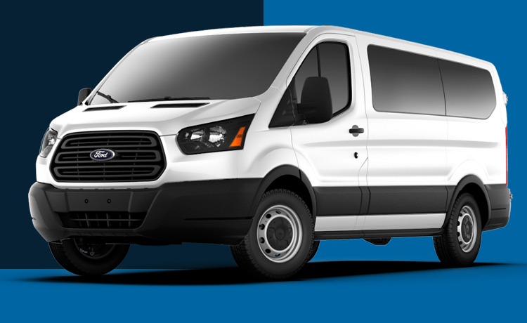 2017 Ford Transit Passenger Wagon Model Exterior Design