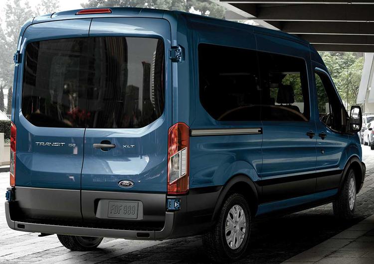 2017 Ford Transit Passenger Wagon Model Exterior