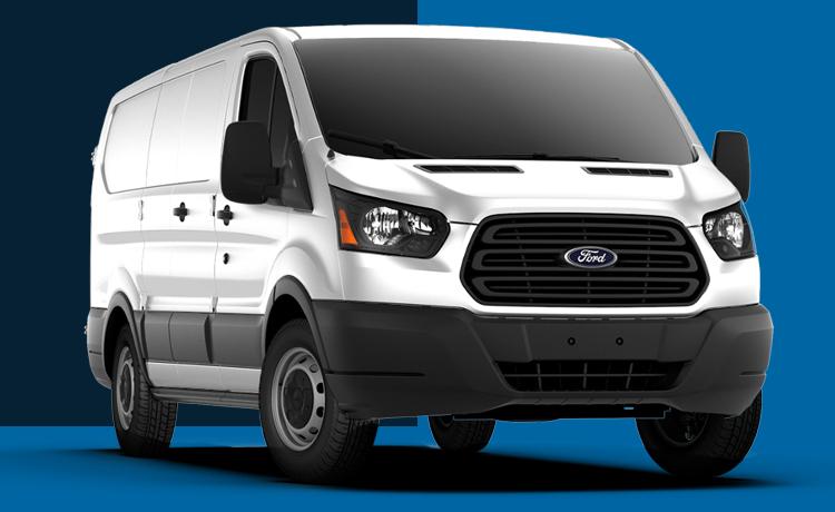 2017 Ford Transit Model Exterior