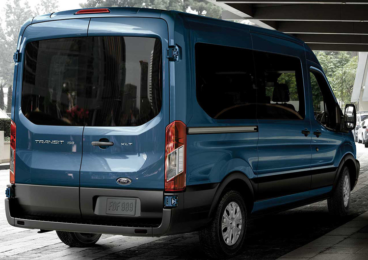 2017 Ford Transit Model Design