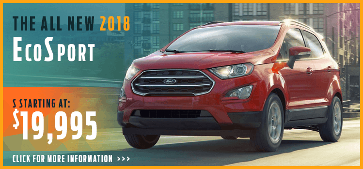 Click to View 2018 Ford EcoSport Model Information