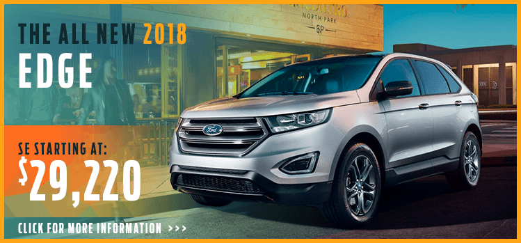 Browse our 2018 Edge model information at Lakewood Ford