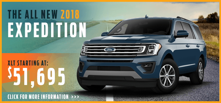 Click to View 2018 Ford Expedition Model Information