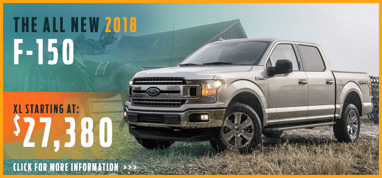 Click to research the 2018 F-150 model at Lakewood Ford