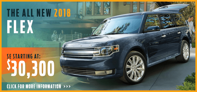 Click to View 2018 Ford Flex Model Information