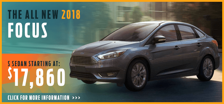 Click to View 2018 Focus Model Information