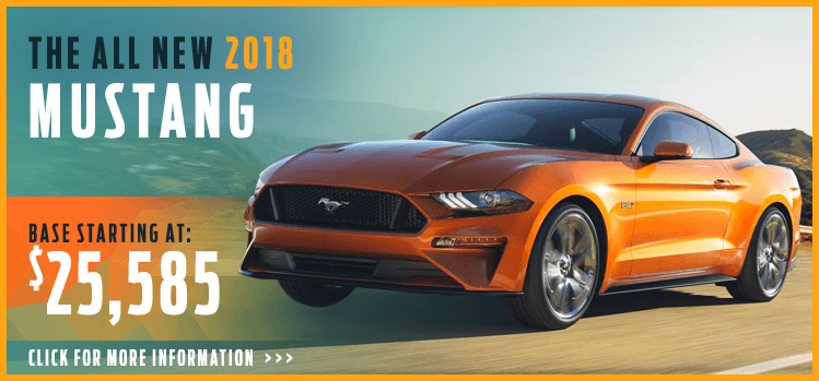 Click to View 2018 Ford Mustang Model Information