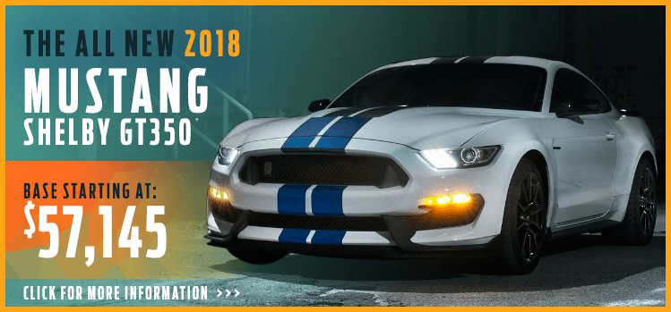 Browse our 2018 Mustang Shelby GT350 model information at Lakewood Ford