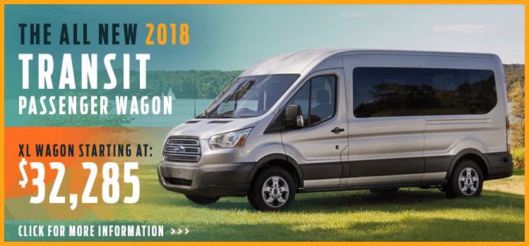 Click to View 2018 Ford Transit Passenger Wagon Model Information