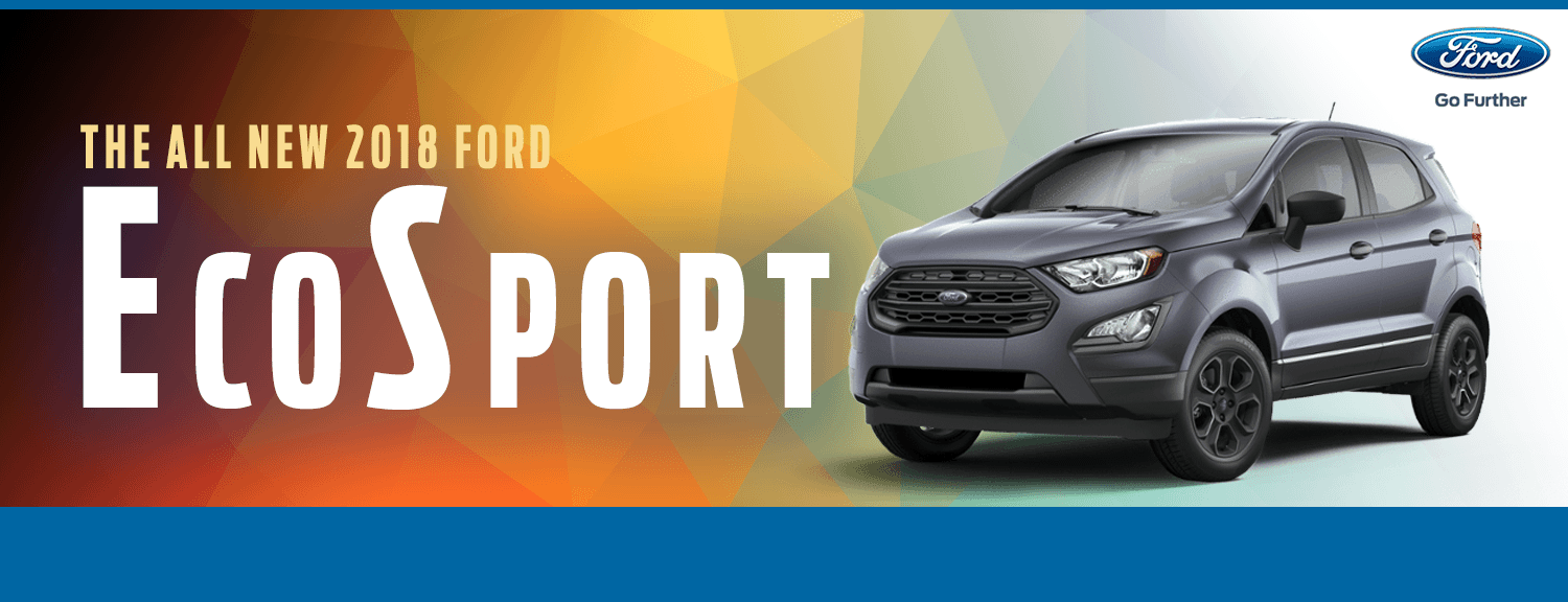 2018 Ford EcoSport Model Details in Lakewood, WA