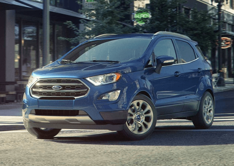 2018 Ford EcoSport Model Exterior