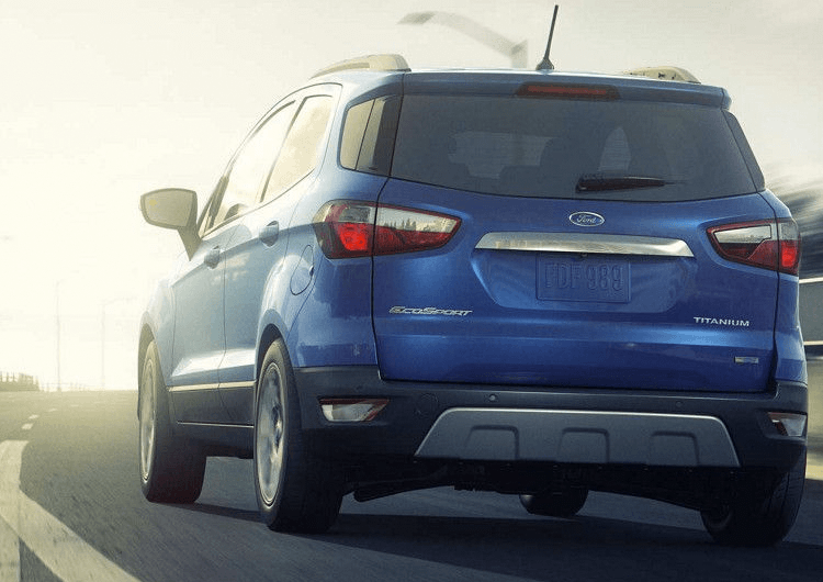 2018 Ford EcoSport Model Performance