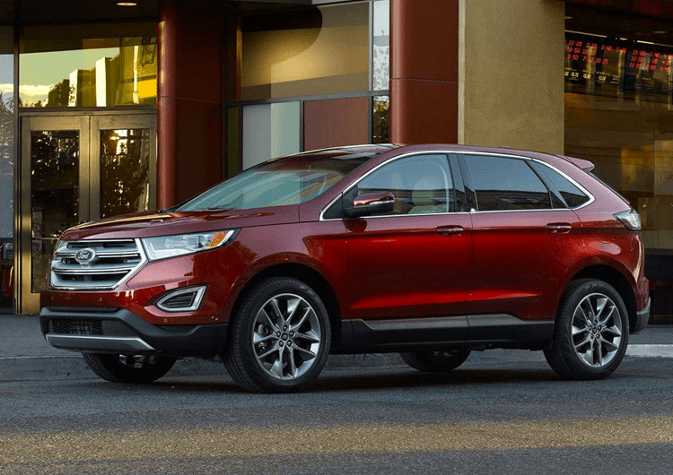 2018 Ford Edge Design