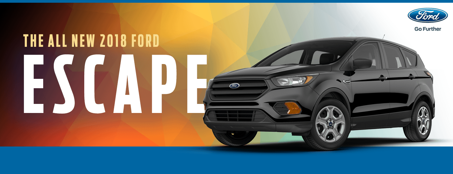 2018 Ford Escape Model Details in Lakewood, WA