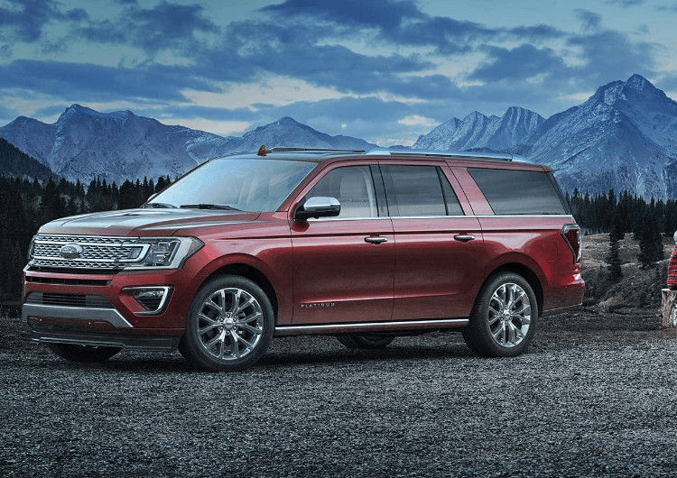 2018 Ford Expedition Model Exterior