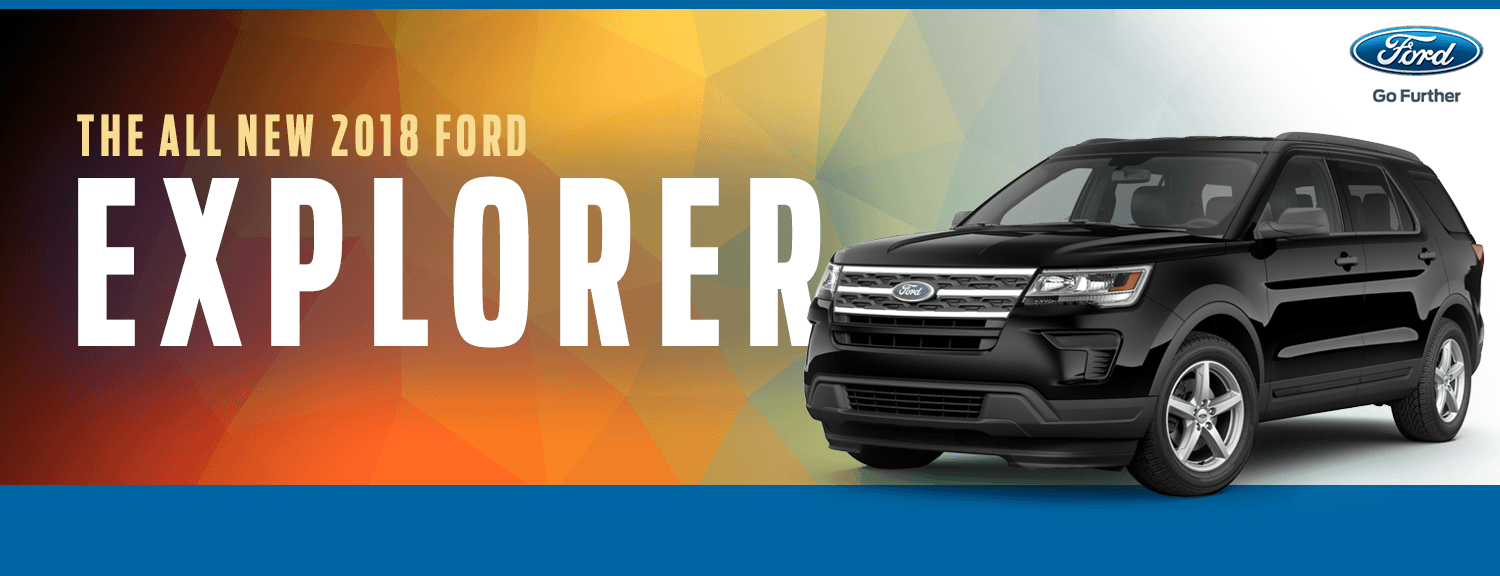 Research the 2018 Explorer model at Lakewood Ford