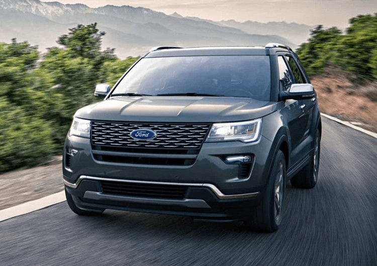 2018 Ford Explorer Design