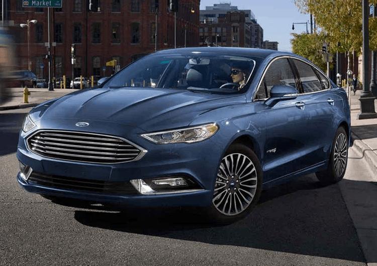 2018 Ford Fusion Hybrid Design