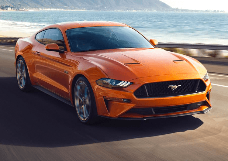 2018 Ford Mustang Model Exterior