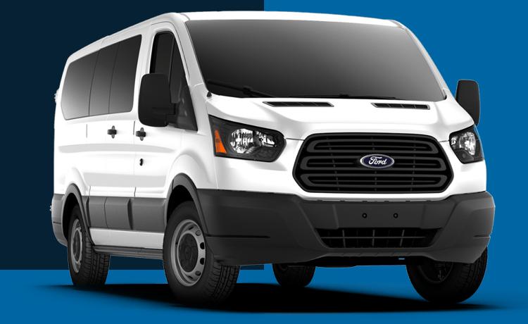 2018 Ford Transit Passenger Wagon Model Exterior Design