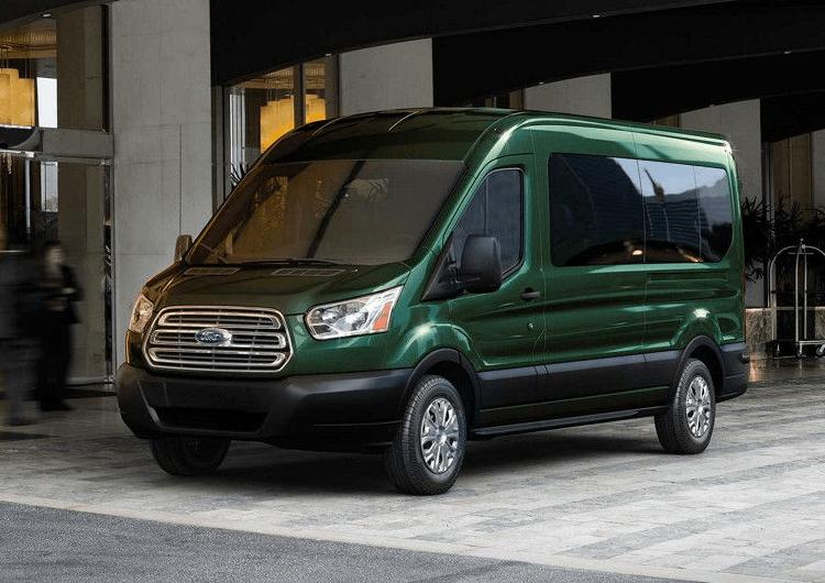 2018 Ford Transit Passenger Wagon Model Exterior