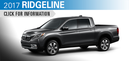 Click to Research Our 2017 Honda Ridgeline Model in Chicago, IL