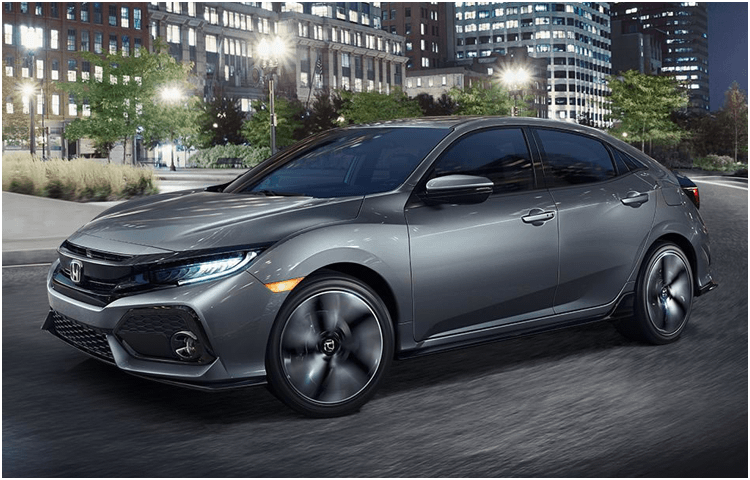 2018 Honda Civic Hatchback Exterior Features