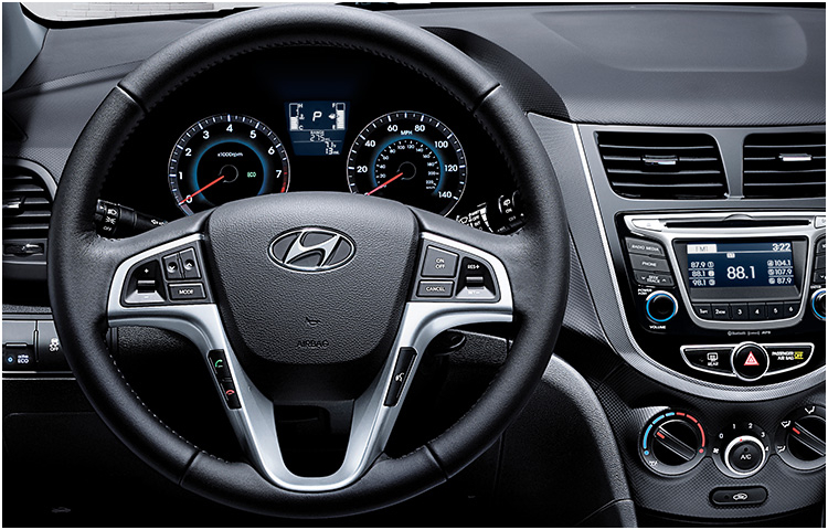 2017 Accent Interior Styling