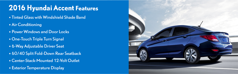 2016 Hyundai Accent Features